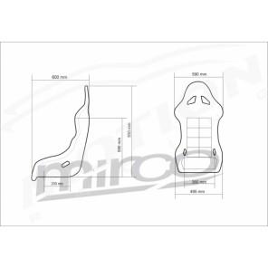 Mirco GT,  FIA motorsport seat