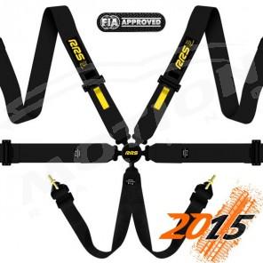 RRS FIA EVO 6 Harness, 3'' Hans compatible
